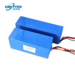China Supplier 36V10ah Lithium-Ionen-Akku für Elektroscooter