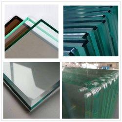 3mm 4 mm a 5 mm 6 mm 8 mm 10mm 12mm a construção de um vidro de segurança/vidro/vidro temperado/Vidro laminado/vidro temperado para mobiliário/Porta/Janela/Showroom/Decorativas