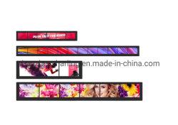 O Digital Signage prateleira 21 24 27 37 Bar TFT de estiramento do Monitor de LCD