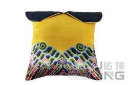 Textil hogar Palacio Cojín de juguete de peluche almohada amarilla