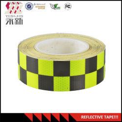 Пэт Honeycomb инфракрасный светоотражающей лентой отражательная наклейка индивидуального трафика подписать