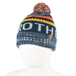 Commerce de gros de la promotion de l'hiver Pac Jacquard personnalisé tricoté Beanie Hat