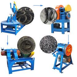 máquina de reciclaje de neumáticos de caucho reciclado de chatarra /de los neumáticos de la máquina trituradora de polvo de caucho