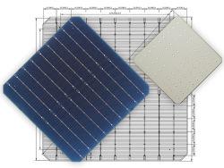 セルダソーラーモノカリスティーノ 9 バラス 21.5% -22.9% Alta Eficiencia Celda Solar 166mm Medio Corte PERC Solar Cells ソーラーパネルモジュール