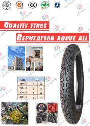 고품질 (2.75-17)를 가진 크로스 컨트리 스레드 패턴 기관자전차 타이어