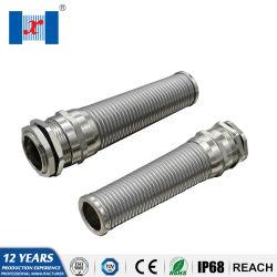 Ghiandola di cavo di spirale di gommino di protezione del cavo elettrico del metallo di Hnx IP68