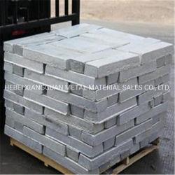 La norme 99,7 lingot d'Aluminium Magnésium pur en lingots de métal