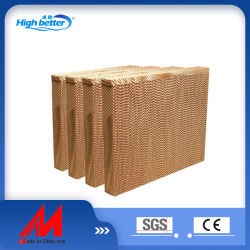 Fabricante de alimentación de papel mojado el papel de cortina de la granja la almohadilla de refrigeración