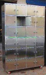 Лаборатория Шкафчик из нержавеющей стали шкаф для лабораторной работы больничных учреждений здравоохранения с помощью