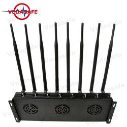 8 Bandas de cobertura a Jam UHF/VHF ou Gpsl1 L2 ou Lojack ou Controle Remoto 433 315 868MHz