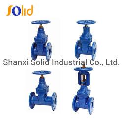 OEM complete verkoop DIN 3352-F4 F5 BS5163 Awwa C509 C515 ductiel De klepbol van de keerklep van de ijzeren stijgend steel Klep fabrieksprijs
