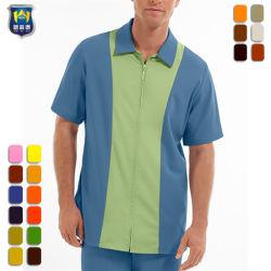 저희 크기 남자의 색깔 구획 내부관리 셔츠