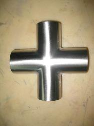 Roestvrij Staal Hygiënisch Sanitair Kort Type Equal Cross (Jn-Ft3003)