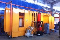 Domanda del rivestimento della polvere del metallo industriale/pittura elettrostatica automatica/strumentazione di spruzzatura di cambiamento rapido di colore
