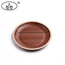 Популярные дерева грецкого ореха декор отеля пирог для приготовления чая и держатель лотка для бумаги