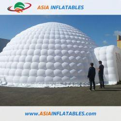 Tenda di campeggio gonfiabile della cupola dell'iglù di Gaint, tenda gonfiabile del coperchio completo