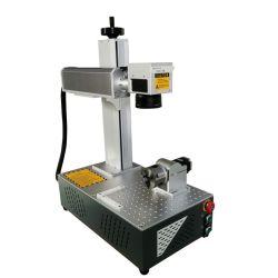 CNC portable 20W 30W 50W la fibre métallique de marquage au laser Gravure Machine d'impression du logo avec option 3D'Autofocus Axe rotatif pour bijoux tasse en plastique de l'anneau de Pigeon