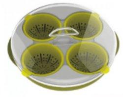 Panelas de ovo de microondas