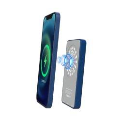 5000mAh Portable Mobile Cell Phone Ultra Slim pour chargeur sans fil de la Banque d'alimentation Magsafe avec pd20W