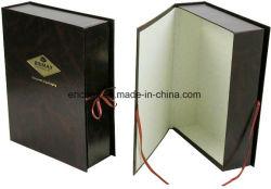Jy GO67 forme de livre papier Emballage de cadeau cas