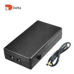 Alimentazione UPS CC di backup con batteria ricaricabile da 14,8 wh2000 mAh mini UPS 9V1a Alimentazione per Modem Router ADSL