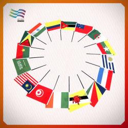 2016 Бразилия Рио Олимпийского дисплей пластмассовые стороны флаг (HYHF-AF003)