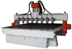 マルチスピンドルが付いている彫版CNCのルーター機械
