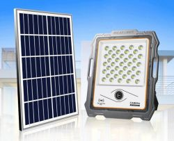 Radia PIR 센서 태양전지 투광 조명