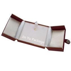 Fait à la main rouge Collier en plastique Fabricant de Bijoux Cadeaux Emballage