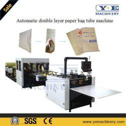 Bolsa de papel de cemento de doble capa de máquina de fabricación de tubos