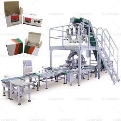 Het Vullen van het Karton van het Bevestigingsmiddel van de Spijker van de Schroeven van de bout de Machine van de Verpakking