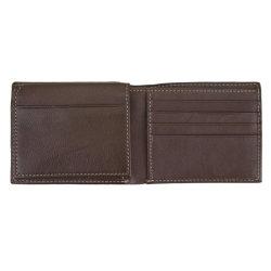 Promoção de negócios abraçadeira dinheiro RFID PU couro titular do cartão de identificação da carteira de crédito
