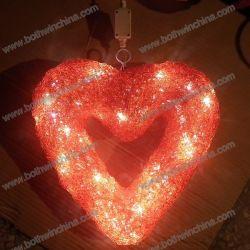 Illuminazione a LED a forma di cuore per matrimoni (BW-SC-207)