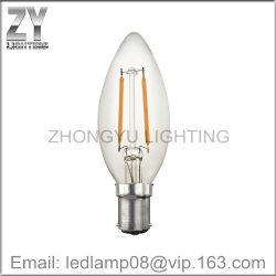 蝋燭C35のフィラメントLEDの球根ランプ