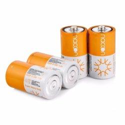 Выбросы углекислого цинка D R20p 1,5 Super высокая производительность сухая батарея