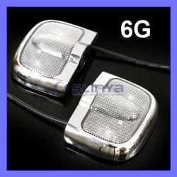 6 LED da porta do carro de boas-vindas de geração de luz laser de projecção do logotipo da lâmpada de iluminação