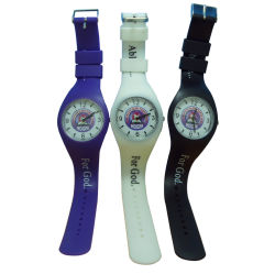 Venta de relojes de silicona caliente para regalo promocional