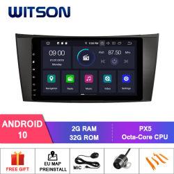 ويتسون أندرويد 10 لمرسيدس بنز الفئة E W211 (2002-2008) /G-Class W463 (2001-2008) /CLS W219 (2004-2011) فيديو DIN 1080p HD