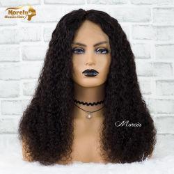 Brasilianisches Wasser-Wellen-volles Spitze-Perücke-Produkt-menschliches Häutchen ausgerichtetes Haar