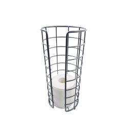 Tejido de soporte de almacenamiento de accesorios de baño Wc portarrollos de papel