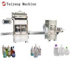 100-1200ml Füllmenge Double Head Tracking Waschmittel Shampoo Flüssigkeit Füllmaschine