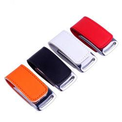سعة حقيقية عالية السرعة 4 جيجا بايت سعة 8 جيجا بايت و32 جيجا بايت مخصصة محرك أقراص USB 3.0 Flash من الجلد