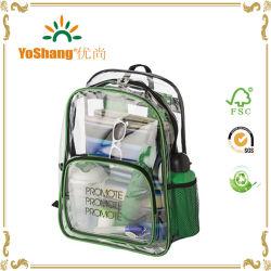 China Wholesale Bolsa Mochila impermeable de PVC transparente