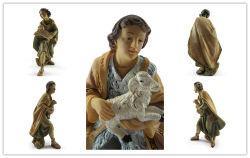 Statue de Jésus de haute qualité personnalisés avec matériau en résine