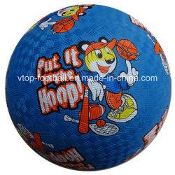 Size 8,5, 7, 6, 5 borracha padrão Playground Brinquedos de Esferas