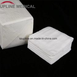 Médicos descartáveis não estéreis de alimentação de gaze Médica de cloaca (Esponjas de gaze) com marcação CE&Certificado ISO