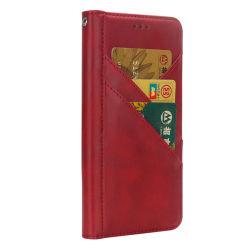 Prix bon marché de bonne qualité en cuir artificiel Iphonex cas cuir synthétique des cartes de crédit logement Téléphone mobile
