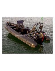 boot 19feet 5.8m/de Boot van de Redding/De Boot van de Snelheid van de Reddingsboot/Militaire Boot van de Boot van de Vissersboot de Opblaasbare/de Boot van het Aluminium