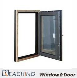 Couleur dorée Bande d'étanchéité de la fenêtre d'aluminium de luxe avec Hot pause sur le profil de la structure et le verre