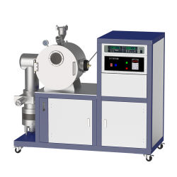 kleine horizontale Induktions-schmelzender Ofen des Vakuum25kw bis zu 2000c